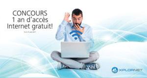 1 an d'accès Internet de Xplornet GRATUIT