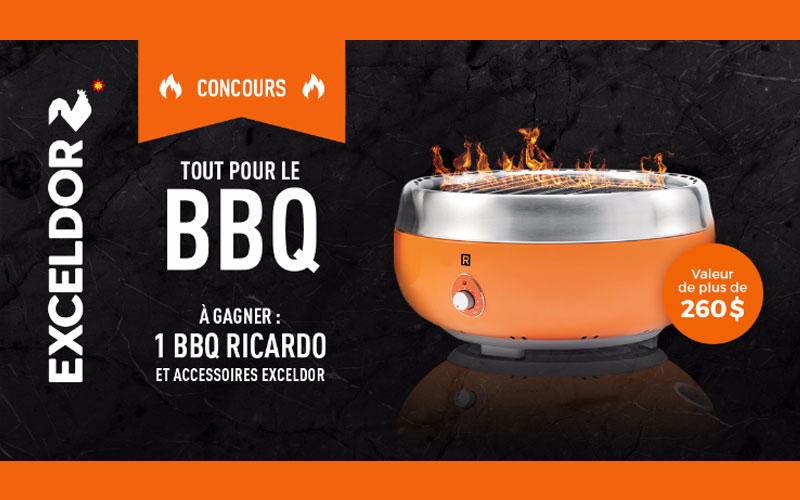 Bbq portatif ricardo et des accessoires de cuisine - Ricardo cuisine concours ...