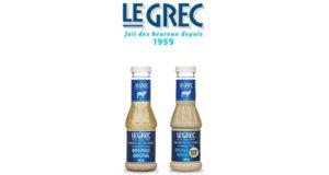 Coupon de 2$ Le Grec