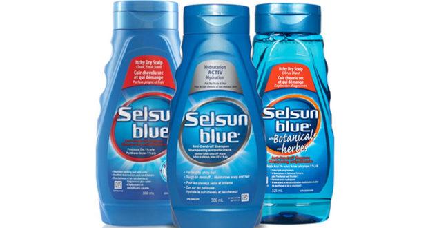 Coupon de 2$ sur tous les shampooings SELSUN BLUE