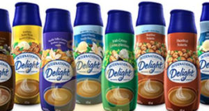Crème à café International Delight à 99¢