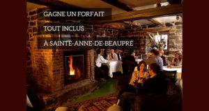 Forfait tout inclus pour deux à Saint-Anne-de-Beaupré