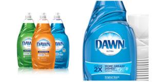 Savon à vaisselle Dawn à seulement 0.99$