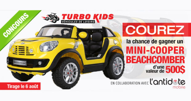 v hicule lectrique de loisir mini cooper beachcomber. Black Bedroom Furniture Sets. Home Design Ideas
