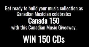 150 CD de musique canadienne
