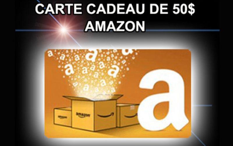 Carte Cadeau Amazon 50 Ou Remise En Espèces Paypal