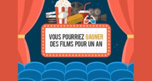 Gagnez des billets de cinéma pour un an