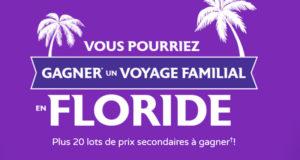 Voyage familial de 7800$ en Floride