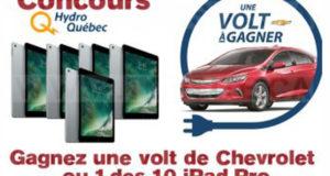 Gagnez un véhicule électrique Volt de Chevrolet (40985 $)