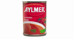 Soupe condensée aux tomates Aylmer 284ml à 33¢