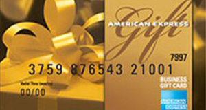 Trois cartes-cadeaux American Express 750 $ chacune