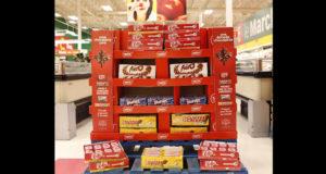 1440 palettes de chocolat Nestlé (1425$)