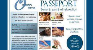 Passeport beauté, santé et relaxation (380$)