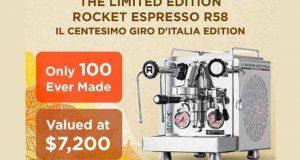 Un Rocket Espresso R58 de 7200 $