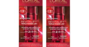 Échantillons gratuits du soin anti-rides Revitalift de L'Oréal