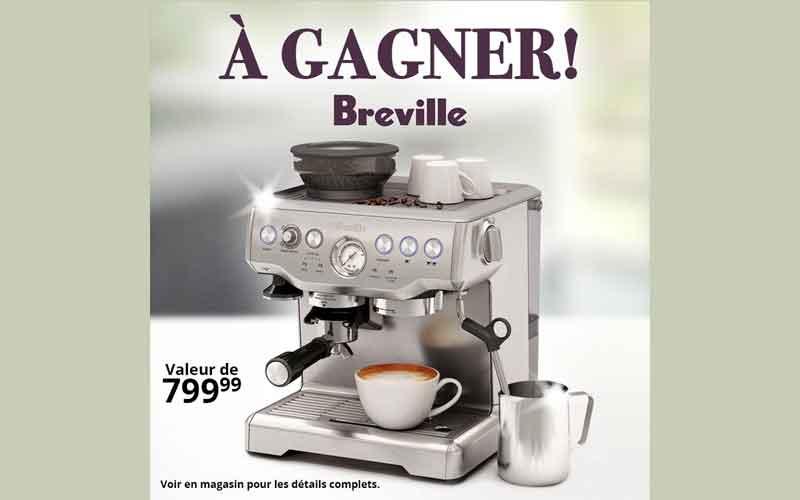 Barista express de breville canada valeur de 800 for Ares accessoires de cuisine