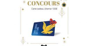 Carte-cadeau de 100$ à la station d'essence Ultramar