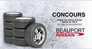Gagnez vos pneus d'hiver