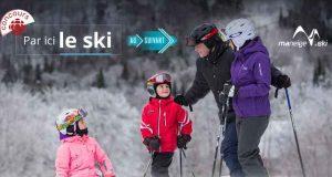 Séjour familial de ski au Québec