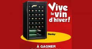 Un refroidisseur à vin de marque Danby