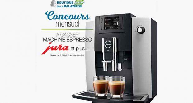 Une machine à espresso Jura (1999$)