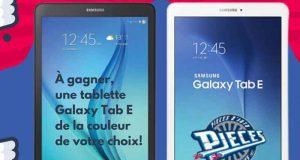 Une tablette Samsung Galaxy Tab E de 9,6'' 16go