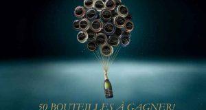 50 bouteilles de champagne à gagner