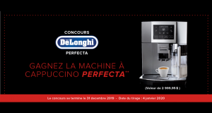 Machine à Cappuccino Perfecta de 3000$