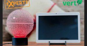Tablette Android + lampe de L'etoile De La Mort