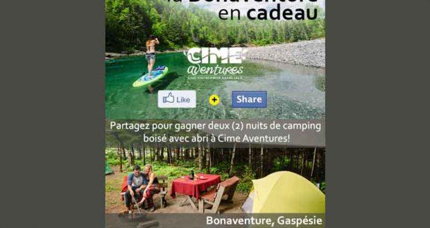 2 Nuits De Camping Bois 233 Avec Abri 224 Cime Aventures
