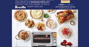 Carte-cadeau La Baie de 500 $ + Breville Smart Oven Air