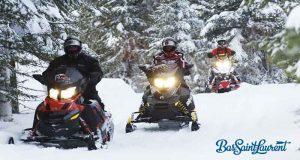 Forfait motoneige dans la région du Bas-Saint-Laurent
