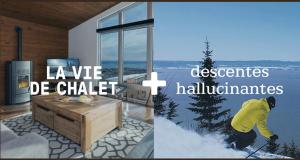 Forfait nuitées pour 4 + ski dans Charlevoix