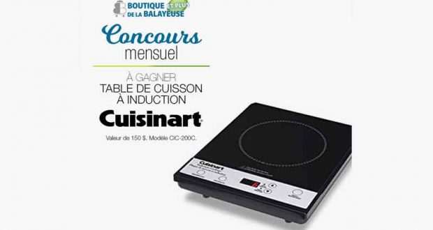 table de cuisson induction cuisinart chantillons gratuits concours coupons rabais deals. Black Bedroom Furniture Sets. Home Design Ideas