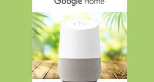Un appareil Google Home