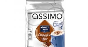 Coupon de 1$ sur un produit Tassimo au choix