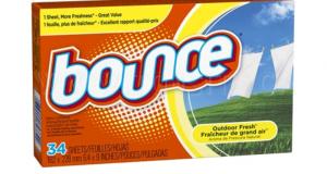 Feuilles assouplissantes Bounce à 50¢