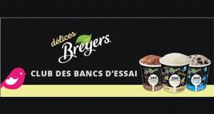 Testez gratuitement l'une des trois saveurs de délices Breyers