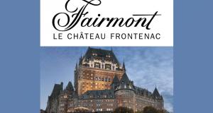 Un forfait nuitée au FAIRMONT LE CHATEAU FRONTENAC (685$)