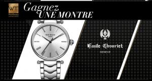Une montre Emile Chouriet Alchimie