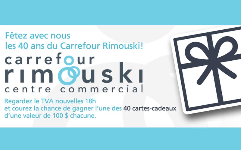 Carte Carrefour Rimouski.40 Cartes Cadeaux Du Carrefour Rimouski De 100 Chacune