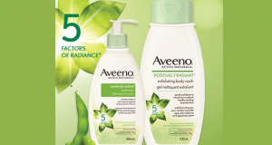 500 Duos de produits AVEENO Positively Radiant Offerts