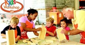 Ateliers Gratuits pour enfants chez Home Depot