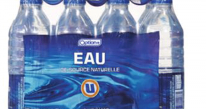 Emballage de 12 bouteilles de 500 ml de l'eau Option+ à 99¢