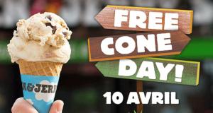 Journée de la glace gratuite avec Ben & Jerry's