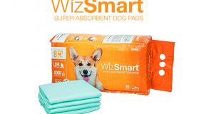 Échantillons gratuits de tampons pour chiens WizSmart