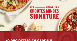 10 000 Pizzas en cadeau - Boston Pizza