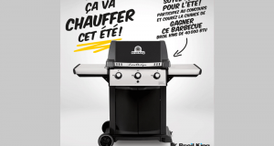 Barbecue Broil King de 40 000 BTU