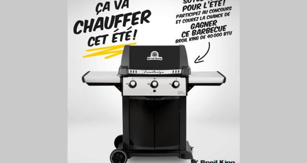 Concours gagnez un barbecue broil king de 40 000 btu for Barbecue de jardin
