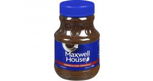 Café instantané Maxwell House à 2$